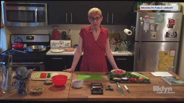 Brooklyn Public Library Offers Cooking Classes From Mobile Kitchen The Cookmobile Flipboard