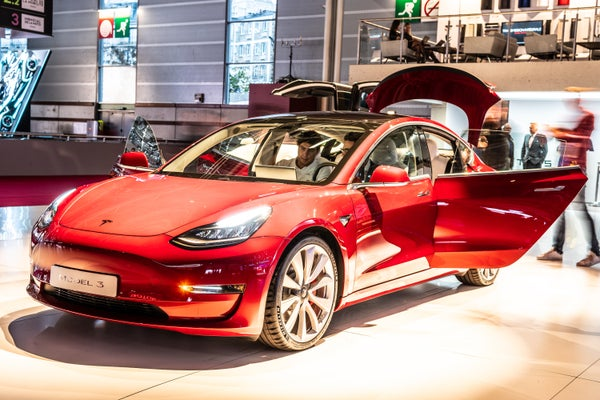 Tesla Unveils Lower-Cost Model 3 on Cheddar