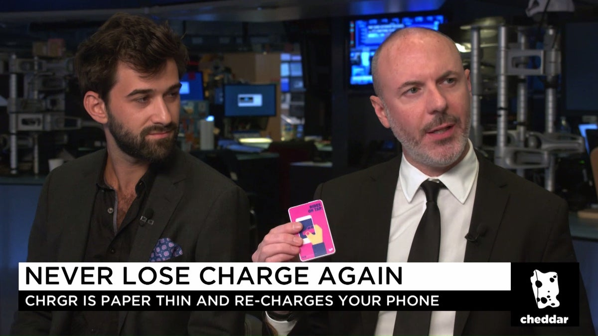 Never Lose Charge Again on Cheddar
