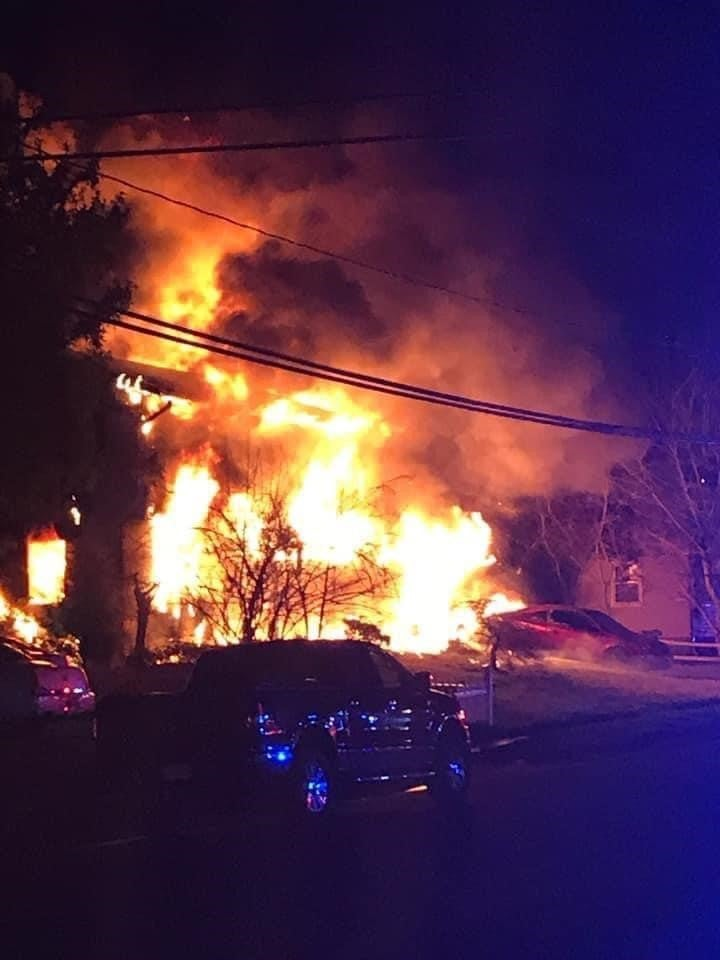 Courtesy Jackson Township fire chief