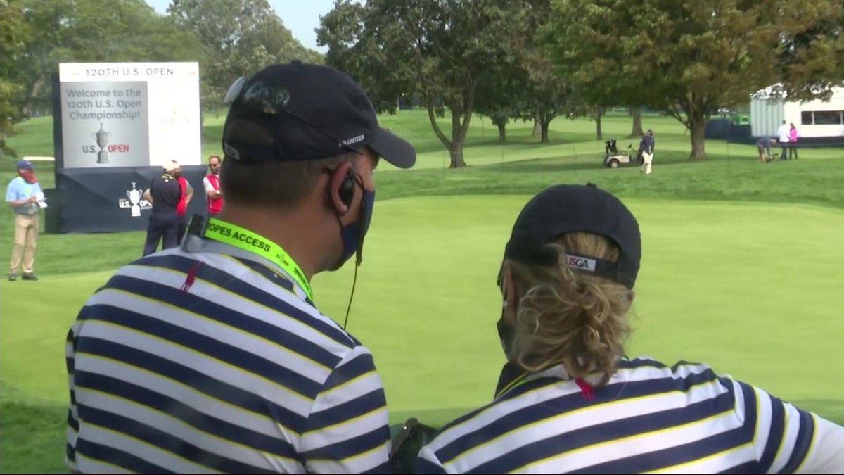 Even with no fans, volunteers stay busy at U.S. Open at Winged Foot