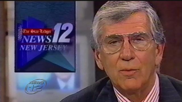 News 12 New Jersey's first anchor Lee Leonard dies at age 89