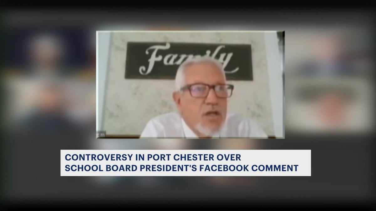 Port Chester school board president's alleged controversial comments ignite calls for his resignation