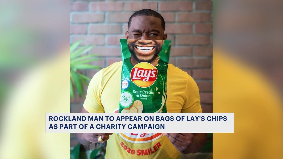 Rockland man's nonprofit lands on Lay's bags as part of charity campaign