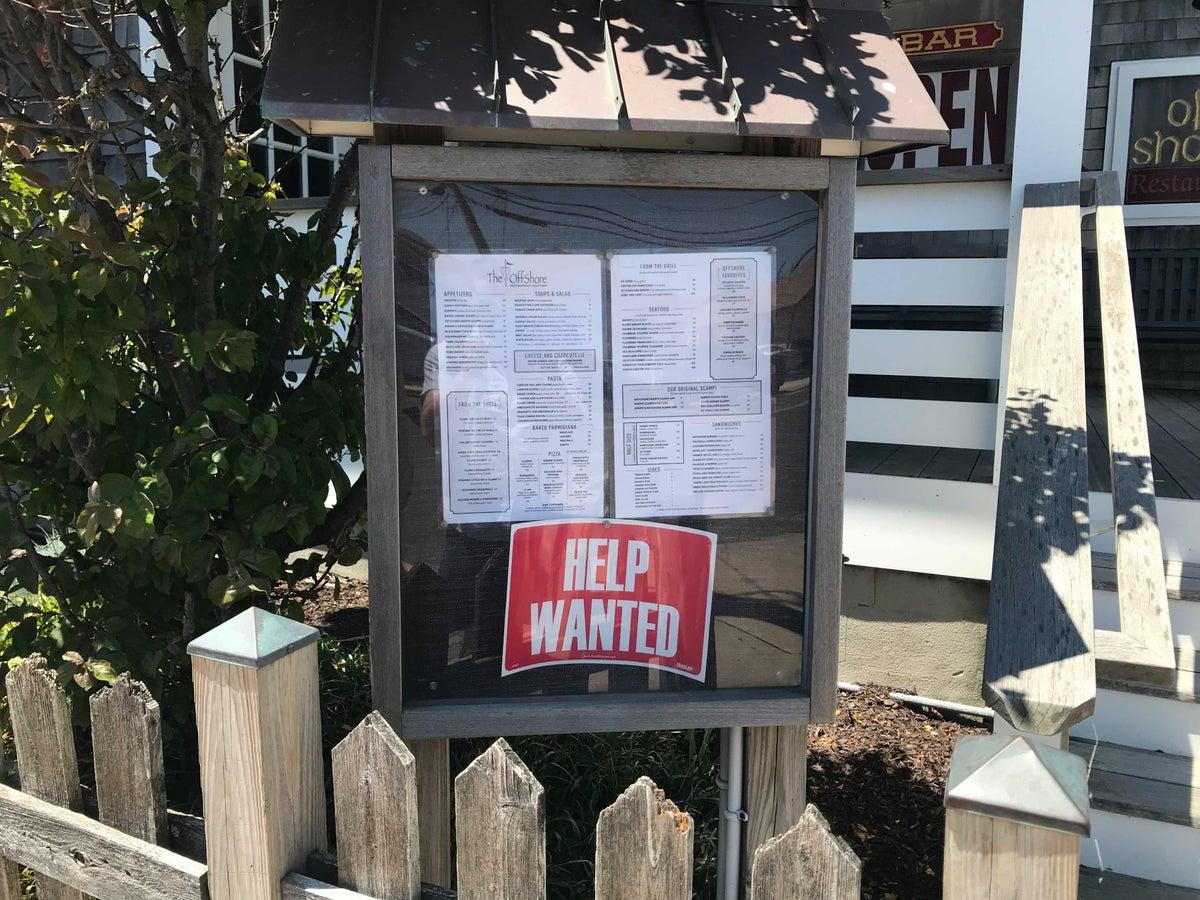 The Off Shore Restaurant in Point Pleasant, New Jersey. Credit: Alex Vuocolo