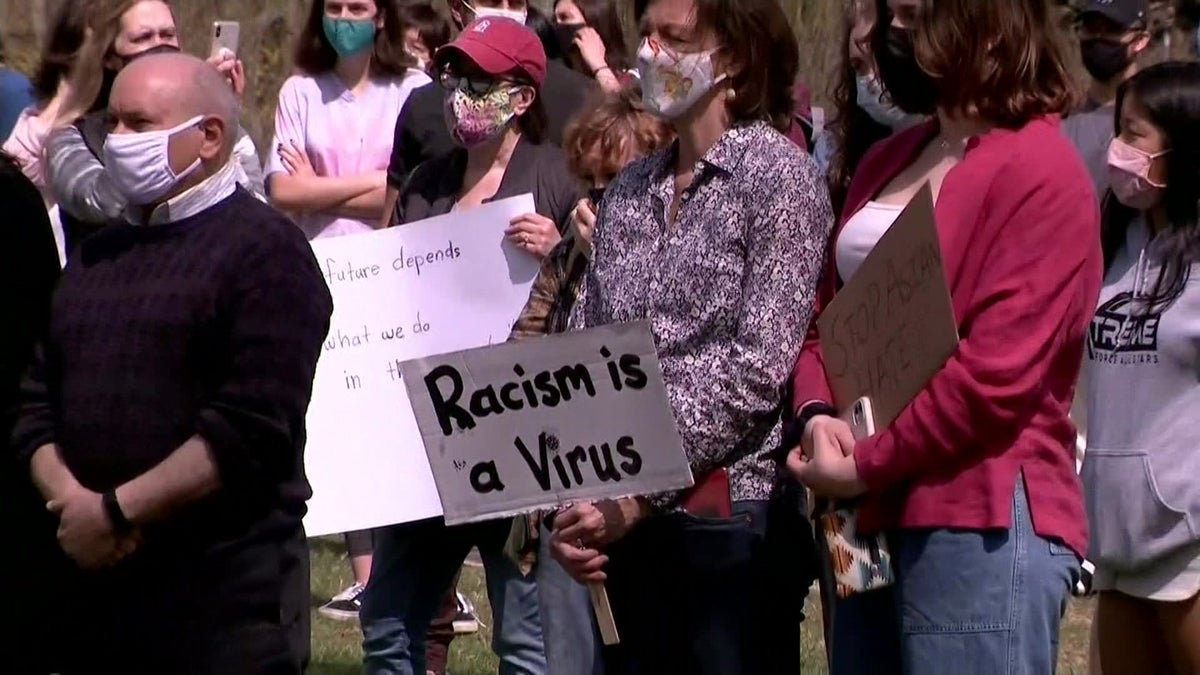 Activist rally together in support of Asian American community in Bedford