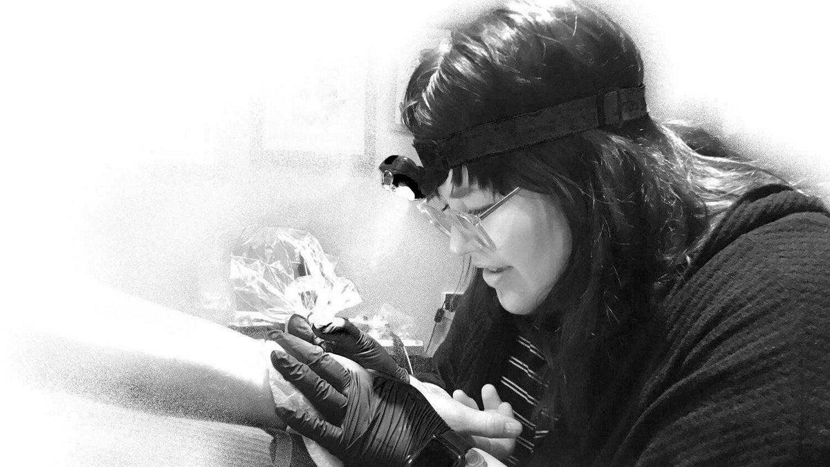 Unexpectedly Unemployed Amid the Coronavirus Pandemic: Tattoo Artist Nokomis Fairbanks