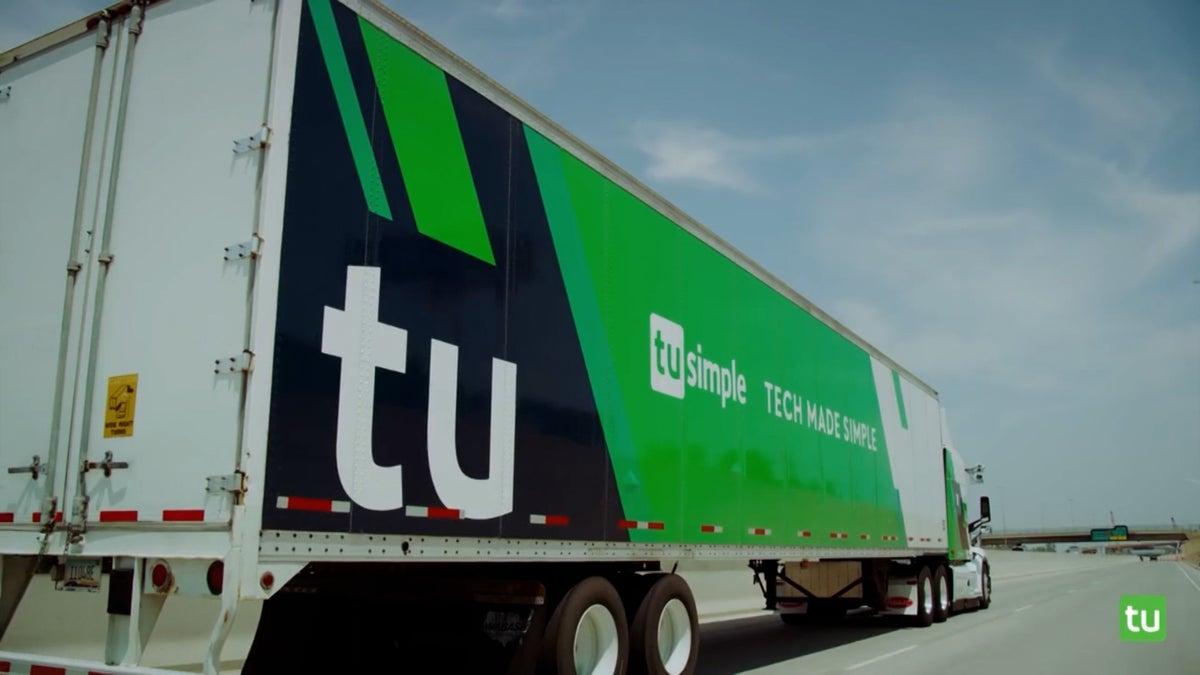 Autonomous Trucking Company TuSimple Debuts on Wall Street
