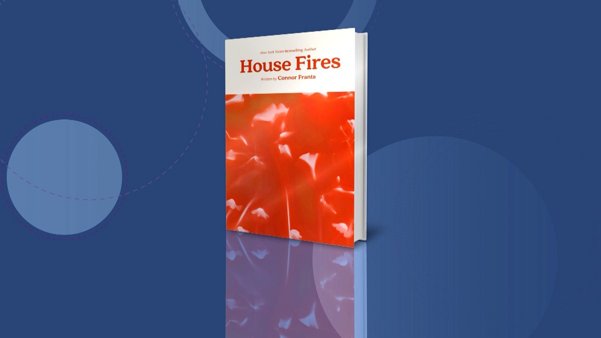 YouTube Star Connor Franta Talks New Book 'House Fires'