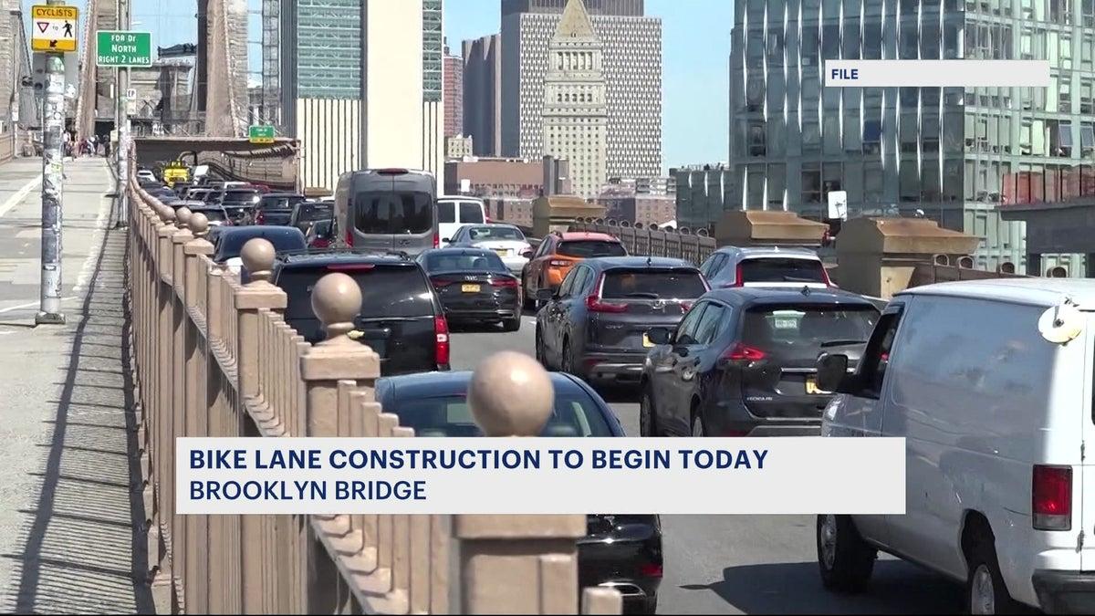 Brooklyn Bridge to undergo major construction starting tonight