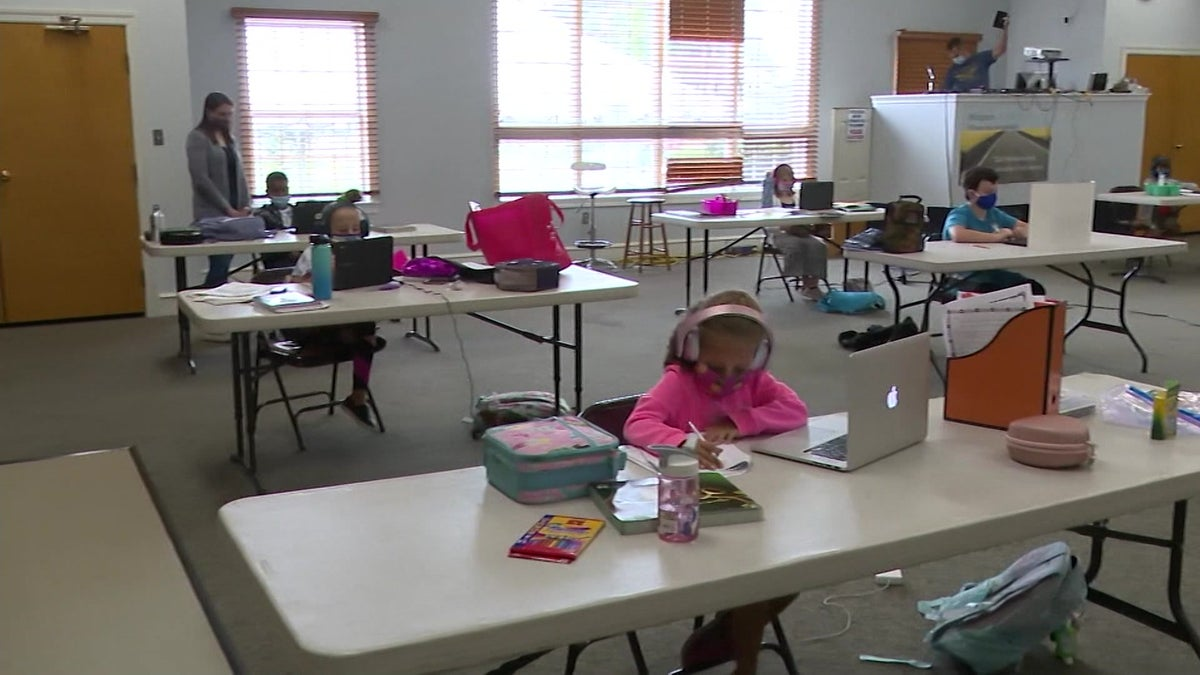 Salem County church creates 'learning pods' for students to attend virtual classes together