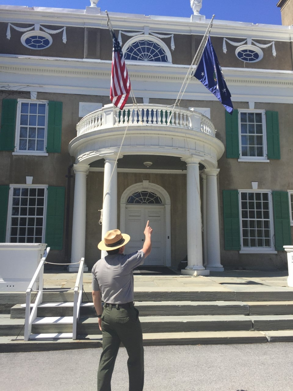 FDR's home (Photo credit: Brian Heyman, News 12)