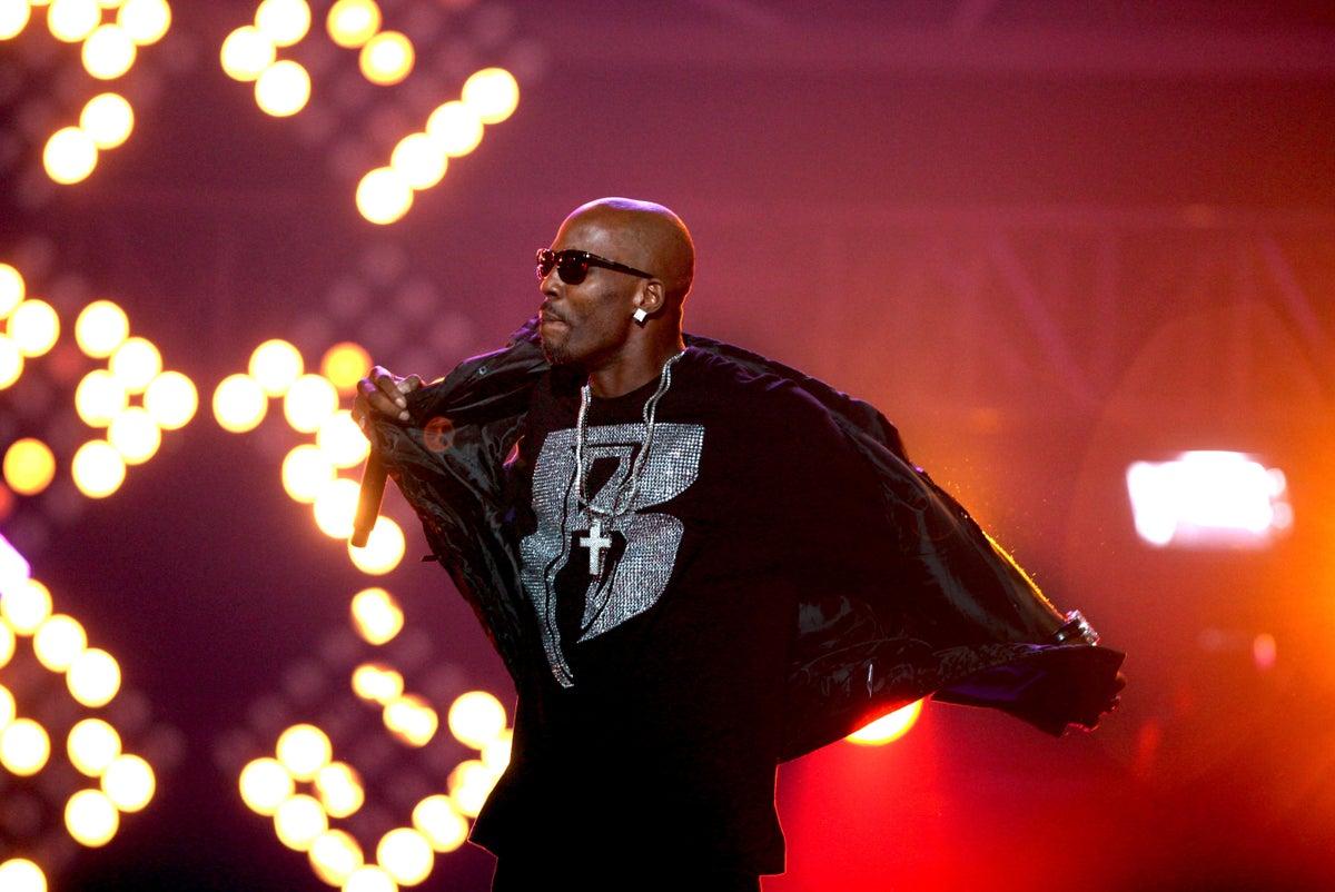 In this Saturday, Oct. 1, 2011, file photo, DMX performs during the BET Hip Hop Awards in Atlanta. (AP Photo/David Goldman, File)
