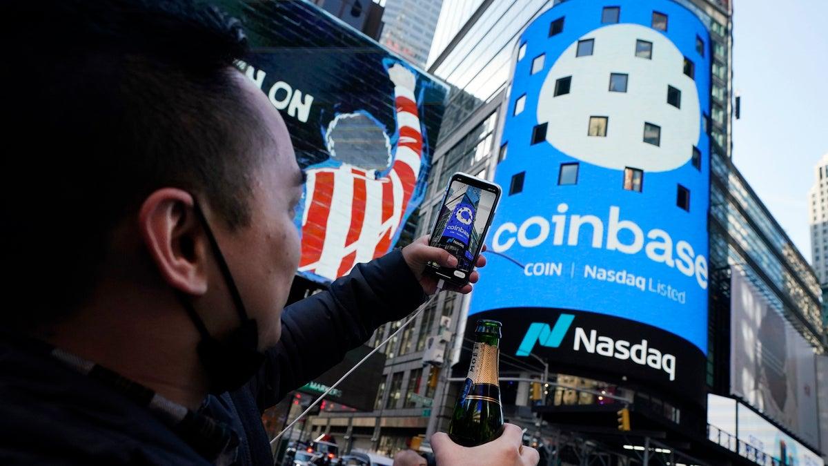 Coinbase Makes Public Debut On The Nasdaq