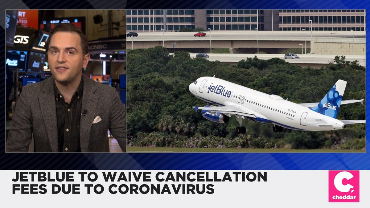 JetBlue Waives Cancellations Fees Due to Coronavirus