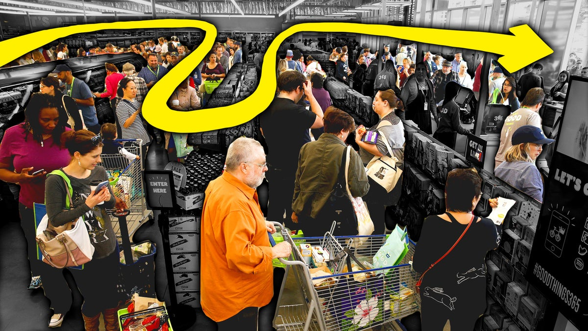 Why Supermarket Lines Are Intentionally Getting Longer