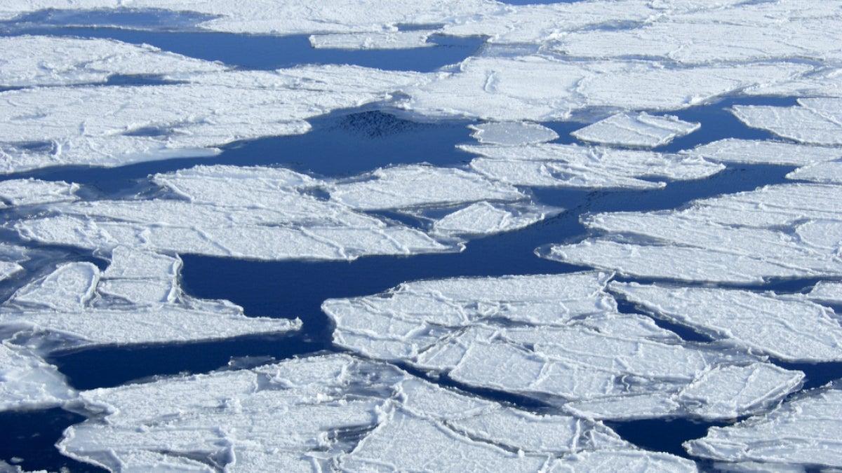 Antarctic Glacial Melting May Be Irreversible on Cheddar