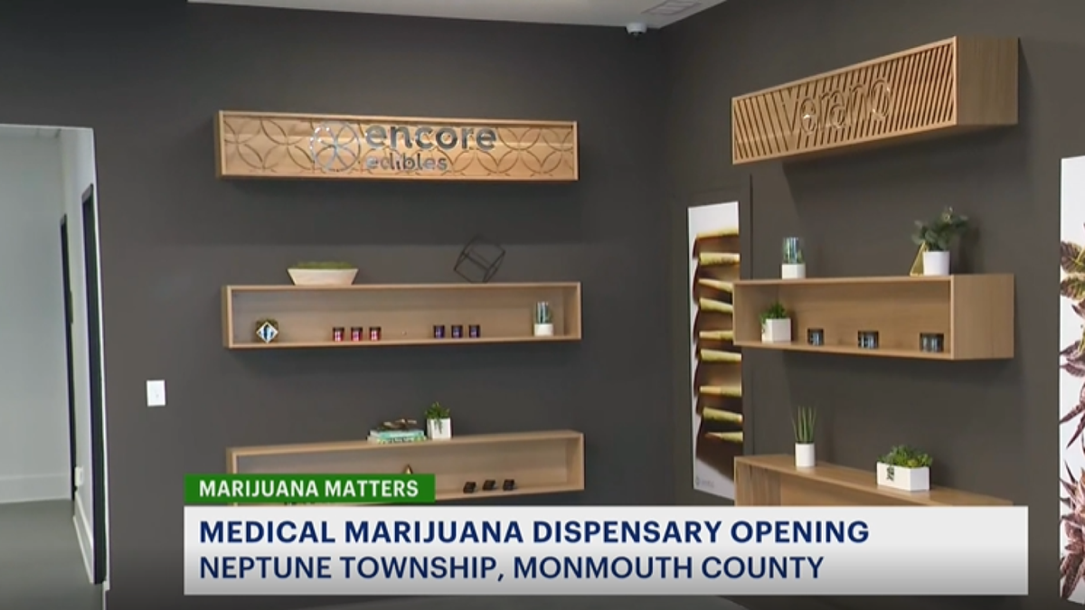 Medical marijuana dispensary to open today in Neptune Township