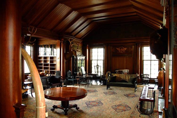 Roosevelt's trophy room (Photo: Xiomáro)