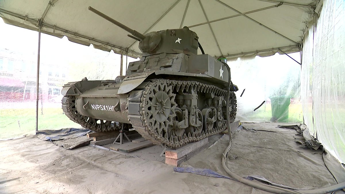 Community steps up to restore WWII Army tank, a staple of New Milford green