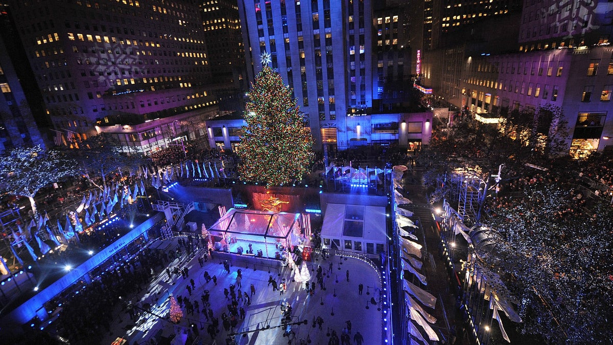 Check out the Rockefeller Center Christmas Tree, or visit a holiday shop! 7 ways to celebrate ...