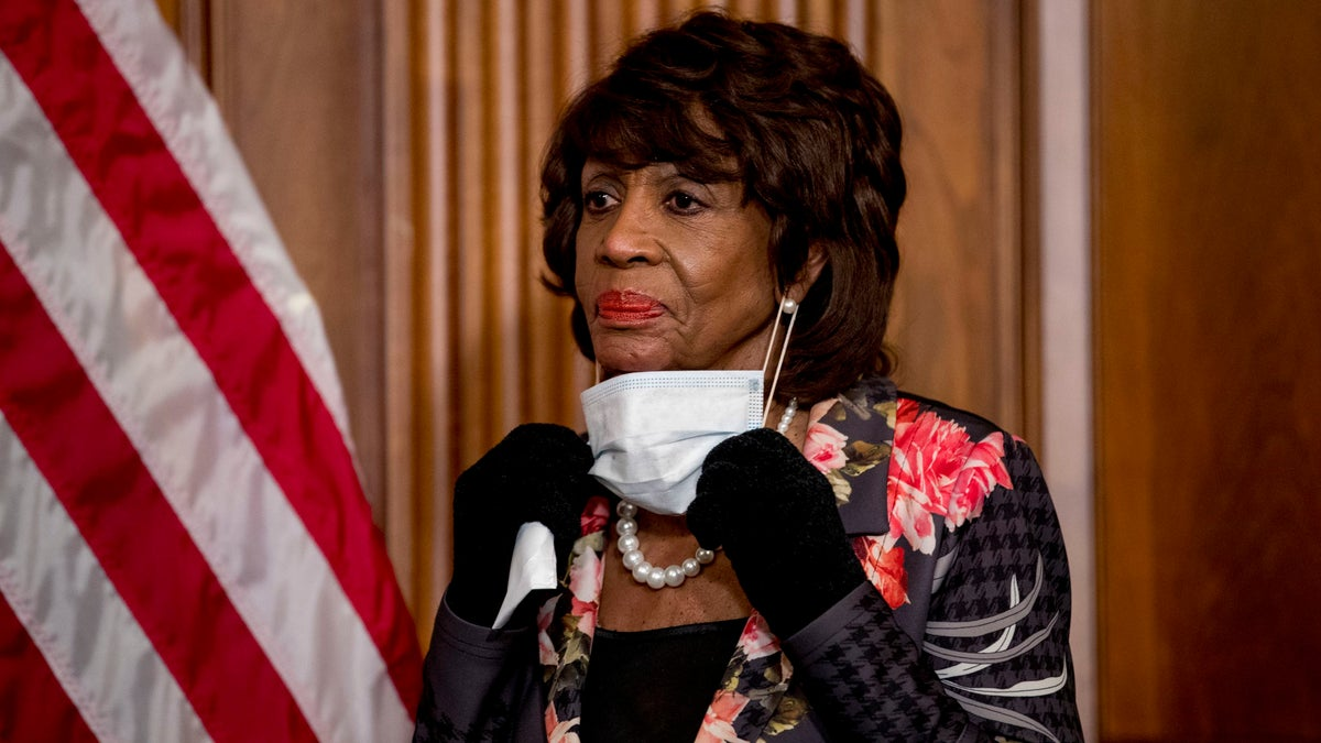 Rep. Maxine Waters: Protests Will 'Help People to Understand That Biden Is a Must'