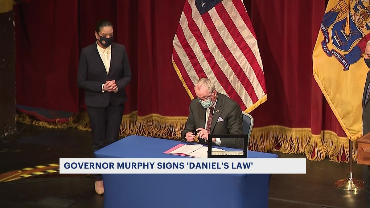 Gov. Murphy signs 'Daniel's Law' to protect judges ...