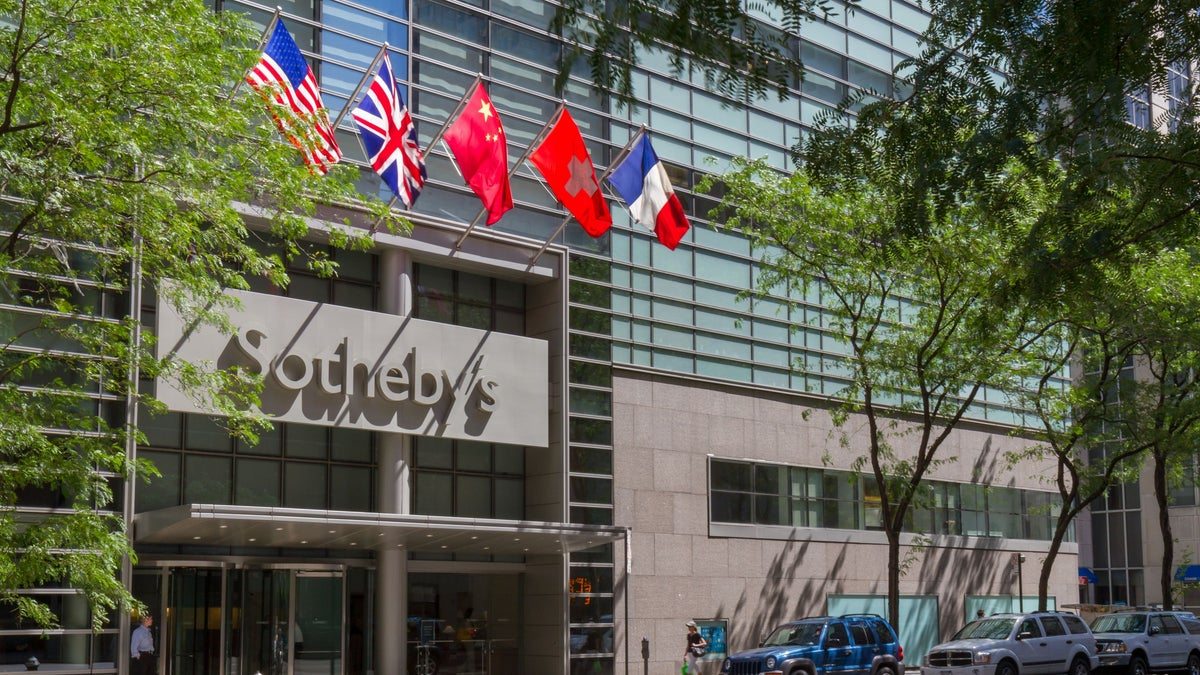 Auction House Sotheby's Uses Streetwear to Attract Younger Buyers