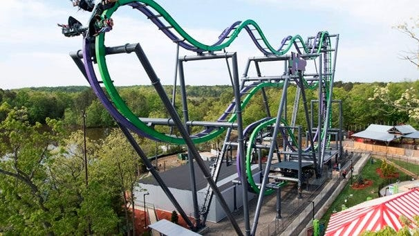 Guide: Thrilling roller coasters in the tri-state area