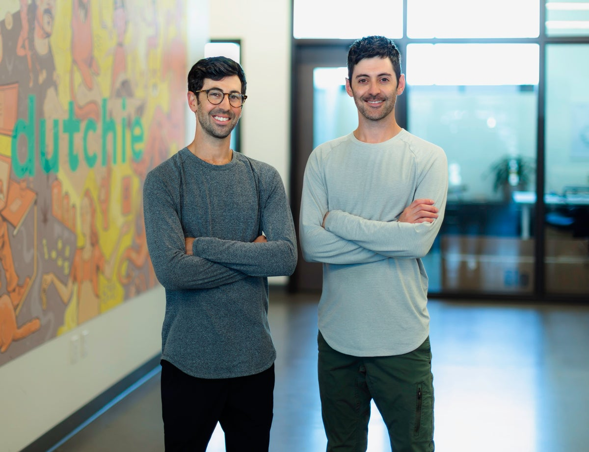 Brothers Ross Lipson (left) and Zach Lipson co-founded cannabis online marketplace Dutchie. (Photo courtesy: Dutchie)