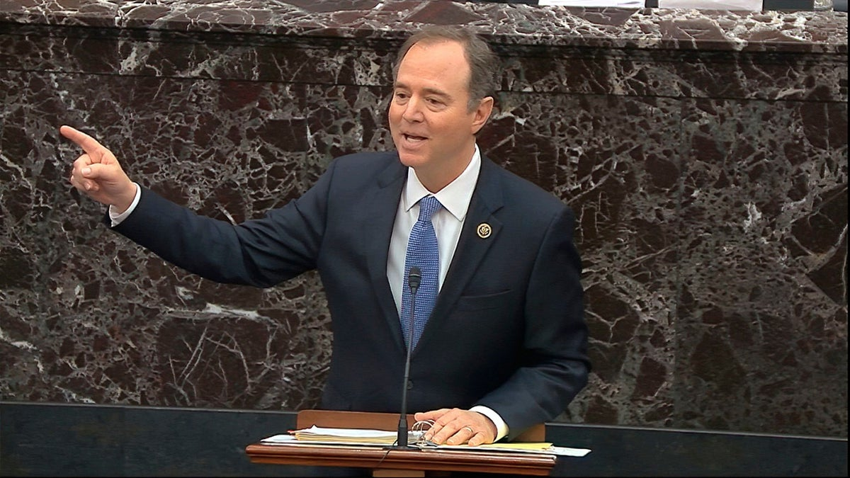 Schiff Gets a Laugh By Pointing Out DOJ's Surprising Testimony on Subpoenas