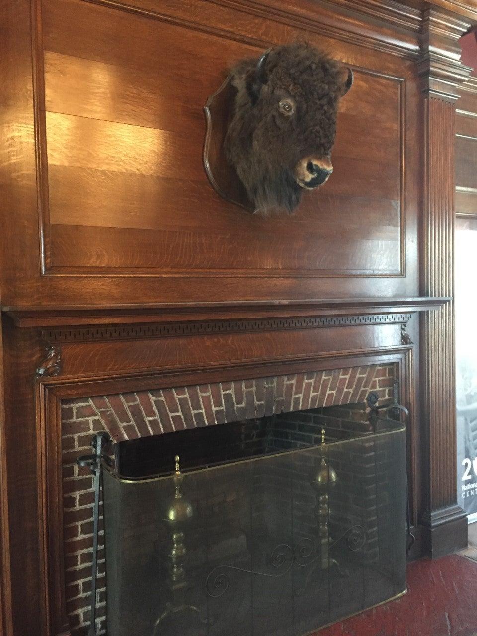 Mantle at Vanderbilt Mansion (Photo: Brian Heyman, News 12)