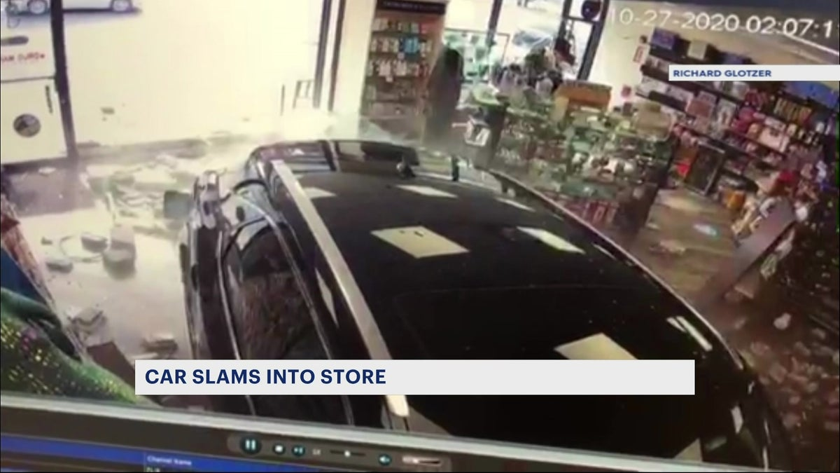 Headlines: Car crashes into drug store, fatal crash update, woman crashes into tree charged with DWI
