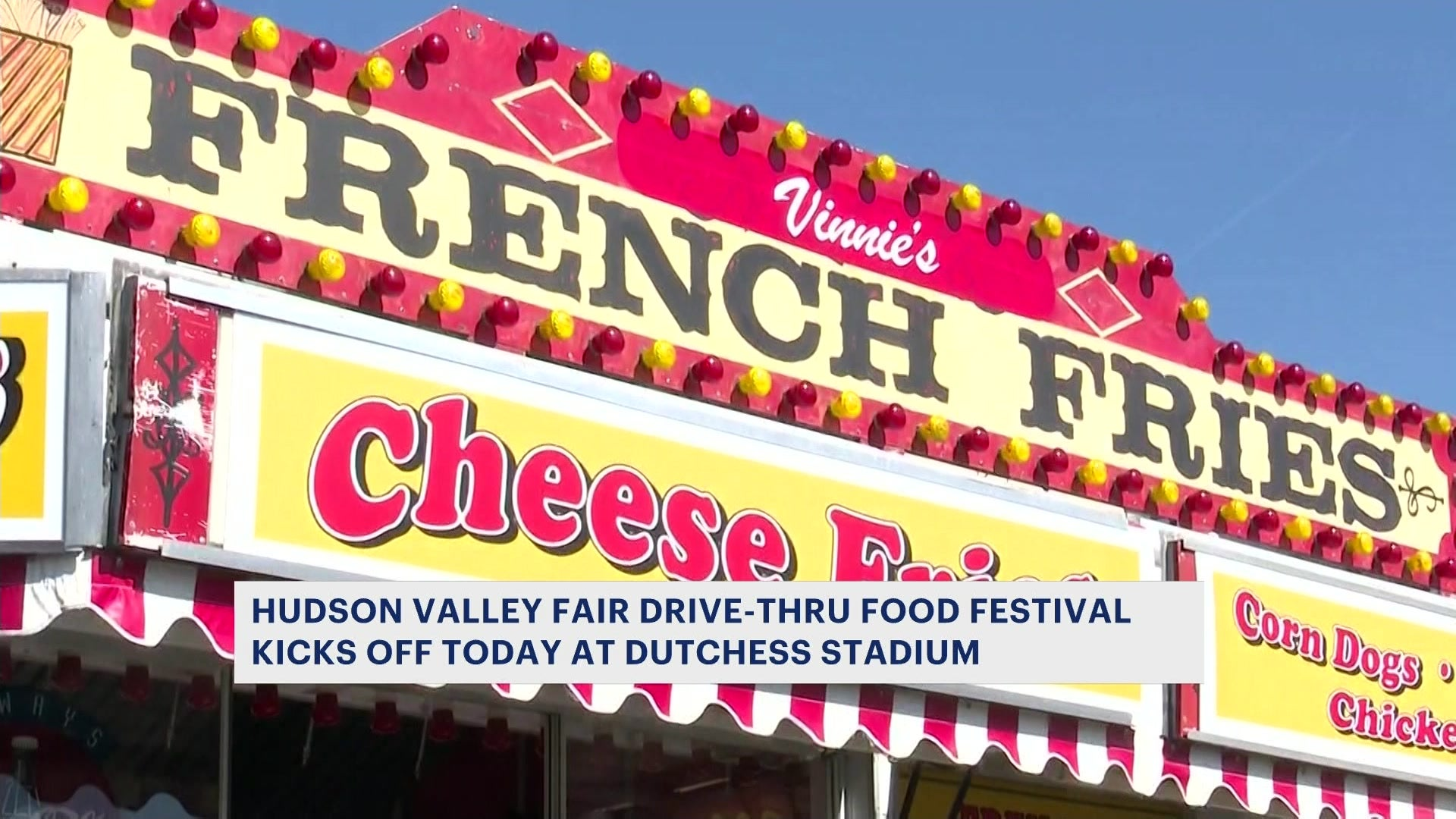 Hudson Valley Fair Food Drive Thru Adapts To Pandemic